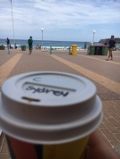 They name me Sydney here at the coffeeshops. My real name is clearly not an option ;-)