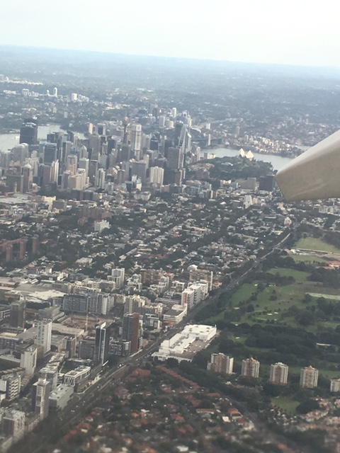 Travelling from Sydney to Auckland