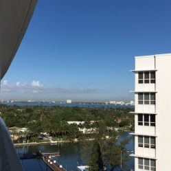 View from hotel Miami